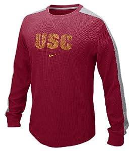 Nike USC Trojans Waffle Crew Shirt by Nike