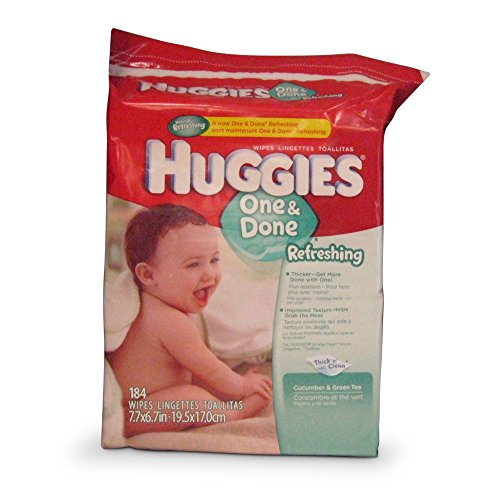Huggies Naturally Refreshing Wipes - 184 Wipes (Pack of 3) - 1
