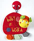 Mamas & Papas Babyplay Ladybird Baby on Board Car Sign