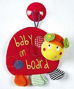 Mamas & Papas Babyplay Ladybird Baby on Board
