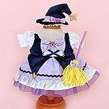 うさももドール 着せ替え人形 服 ハロウィン 魔法少女 魔法使い