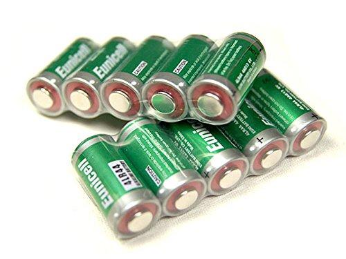 Lot de 10 Piles Alcaline 4LR44 6V Eunicell