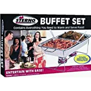 Sterno40007Sterno Large Buffet Kit-LARGE BUFFET SET