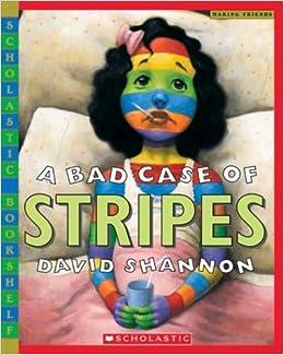 Bad case of stripes scholastic bookshelf paperback abridged