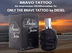 bravo tattoo edt cologne 2 8 oz our version. Black Bedroom Furniture Sets. Home Design Ideas