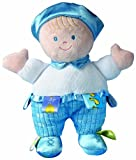 Taggies 8″ Developmental Baby Doll, Blue Boy