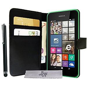 Etui housse luxe portefeuille pour nokia lumia 630 635 for Housse nokia 6