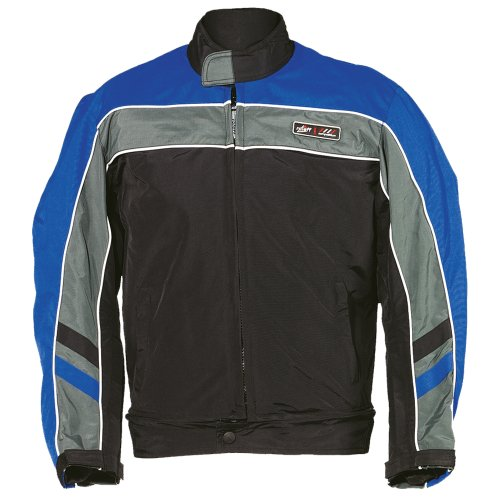roleff racewear 486s blouson moto pitlane noir bleu s sport automobile vestes. Black Bedroom Furniture Sets. Home Design Ideas