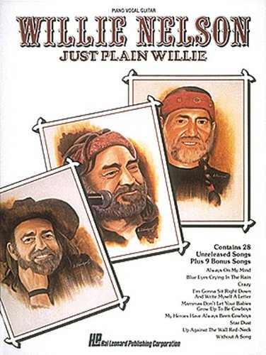 Nelson Willie Just Plain Willie (No. Hl00356382) (Willie Nelson Sheet Music compare prices)