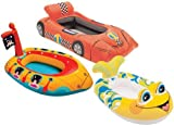 Intex 59380EP The Wet Set Inflatable Pool Cruiser (style may vary: Race Car - 39 1/2 x 25 Boat Character - 42 x 27 Rocket - 39 1/2 x 38)