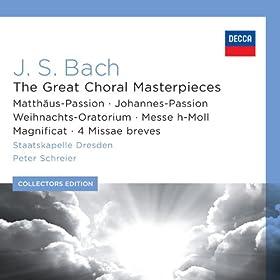 """J.S. Bach: St. Matthew Passion, BWV 244 / Part One - No.26 Evangelist, Jesus, Judas: """"Und er kam und fand sie aber schlafend"""""""