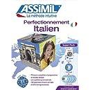 Superpack Perfectionnement Italien (livre+4CD audio+1CD mp3)