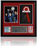 Manchester United 1968 European Cup Final presentation signed by 5 players(LOT611)
