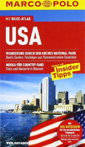 MARCO POLO Reiseführer USA: Reisen mit Insider-Tipps.