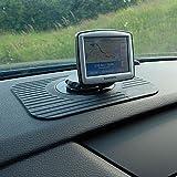 Car Sat Nav Tomtom GPS Rubber Dash Board Non Stick Mount Holder Mat Slim Portable By Kingdom Electronicsby Mofun