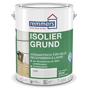 Remmers Isoliergrund  weiß 5ltr  BaumarktÜberprüfung und Beschreibung