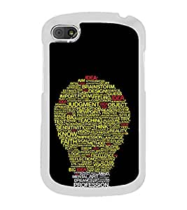 ifasho Designer Phone Back Case Cover Blackberry Q10 ( Space Man Planet China )