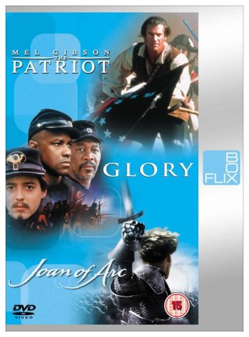 Joan of Arc/Glory/Patriot [Gibson] [DVD] [2000]