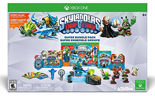 Skylanders Trap Team Holiday Bundle Pack - Xbox One (Xbox One Consoles 2k Bundle compare prices)