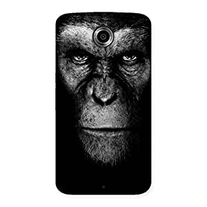 Cute Black King Chimp Back Case Cover for Nexsus 6