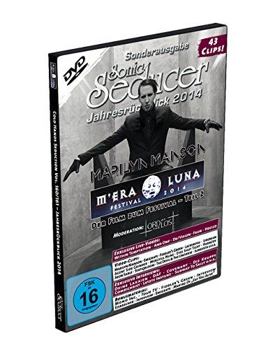M'Era Luna 2014 - Der Film, Teil 2, mit 43 Clips (über 3,5 Std.) + Sonic Seducer Jahresrückblick 2014, Bands: Marilyn Manson (Titel + exkl. Sticker), Depeche Mode, And One u.a.