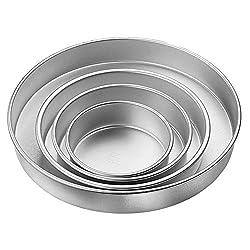 Wilton Round Pan Set, 4-Piece
