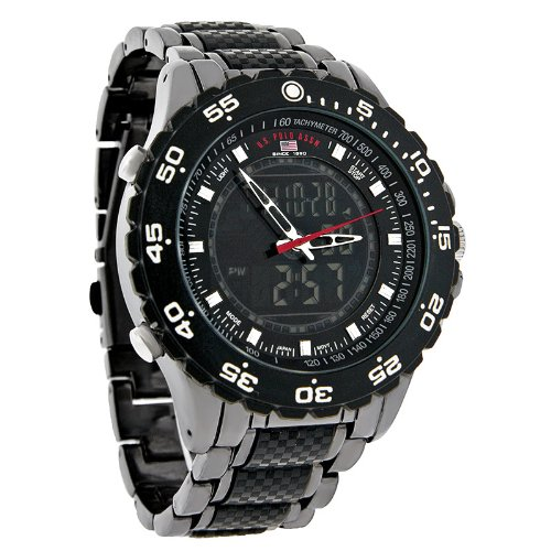 U.S. Polo Assn. Sport Men's US8170 Analog-Digital