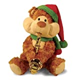 "11"" Christmas Cheeks Animated Plush Teddy Bear Stuffed Animal"