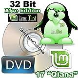 """Linux Mint 17 """"Qiana"""" 32 Bit Xfce Edition DVD"""