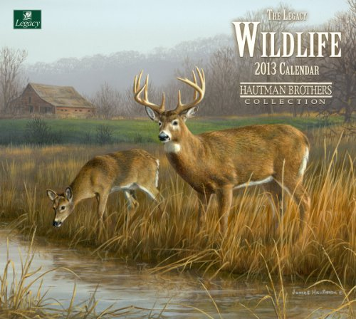 Cheap Legacy 2013 Wall Calendar, Wildlife by The Hautman Brothers (WCA9529) (B0089K3A9G)