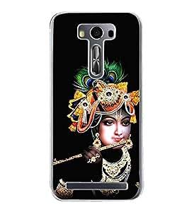 Krishna 2D Hard Polycarbonate Designer Back Case Cover for Asus Zenfone 2 Laser ZE500KL (5 INCHES)
