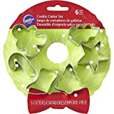 Wilton 5-Piece Christmas Cookie Cutter Set