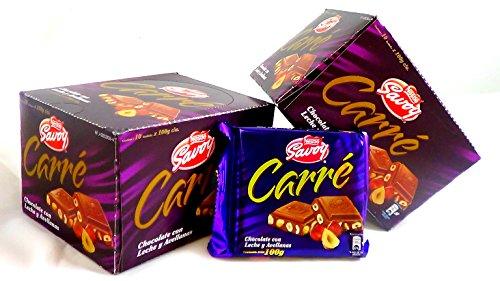 carre-autentico-chocolate-savoy-venezolano-1-box-10-bars-hazelnuts