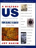 A History of US: Vol 3, From Colonies to Country (A History of Us)