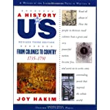 A History of US: From Colonies to Country: 1735-1791 A History of US Book Three ~ Joy Hakim