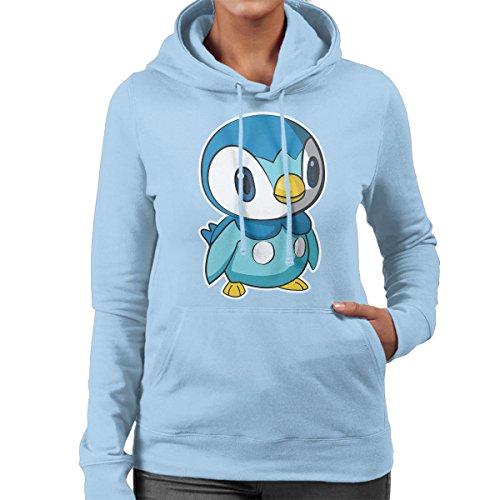 Pokemon-Piplup-Womens-Hooded-Sweatshirt