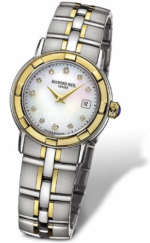 Raymond Weil Parsifal Two Tone Stainless Steel Womens Watch 9440-STG-97081