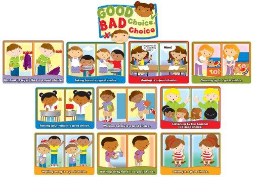 Good Choice, Bad Choice Bulletin Board Set (Good Choices Chart compare prices)