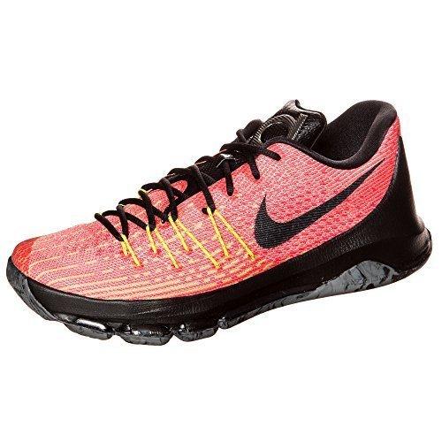 nike KD 8 scarpe ginnastica pallacanestro 749375 scarpe da tennis - arancione nero volt cremisi brillante 807, Uomo, 10 UK / 45 EU / 11 US