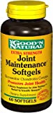 Joint Maintenance Gels - Glucosamine/Chondroitin Complex, 60 softgels,(Goodn Natural)