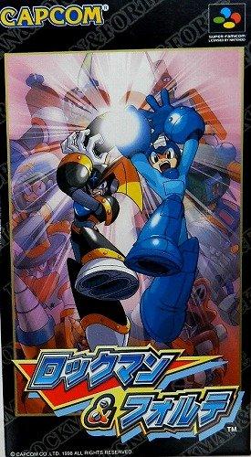 Rockman & Forte (Megaman and Bass), Super Famicom Japanese Import (Super NES) (Mega Man Super Nintendo compare prices)