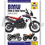 Haynes Manual BMW F650/F800 Twins (06-10)