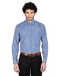 Arihant Men's Cotton Checkered Formal Shirt (AR73100240)