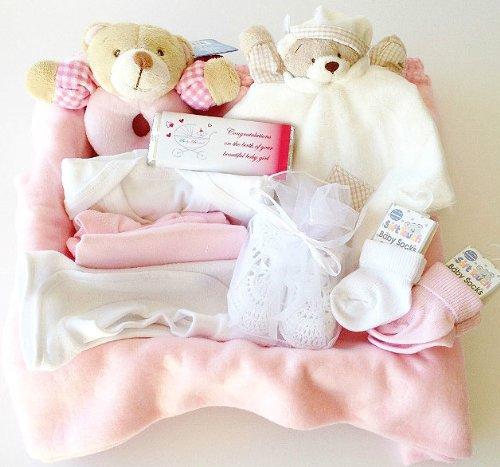 New Arrivals Hamper: Baby Girl Newborn-6 Months By Baby Blessed