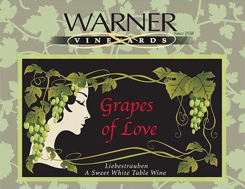 2012 Warner Vineyards Grapes Of Love Blend - White 750 Ml