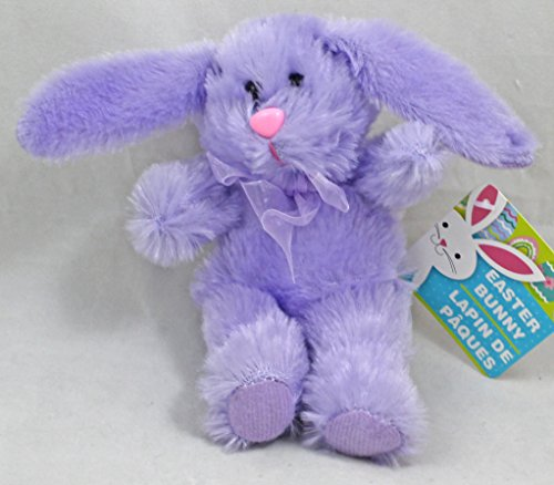 Easter Bunny 7-inch Plush Toy Lavender - 1