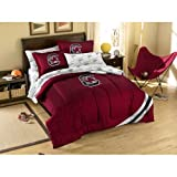 NCAA South Carolina Fighting Gamecocks Bedding Set, Full at Amazon.com