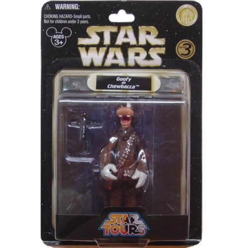 Goofy as Chewbacca Star Wars Star Tours Series 3 Exclusive - 1