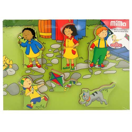 Buy Low Price Fun Caillou My First Backyard Puzzle 45