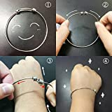 Youre Braver Stronger Smarter than you think Inspirational Bracelet Expandable Bangle Gift for Women Men